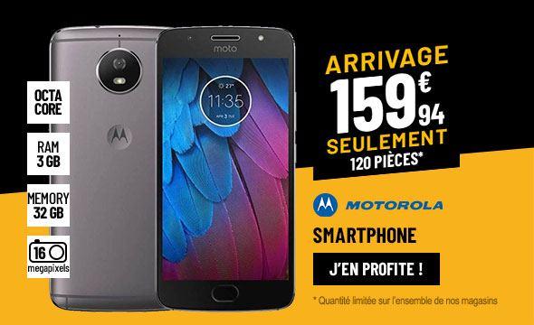 SMARTPHONE MOTOROLA G5S GRIS