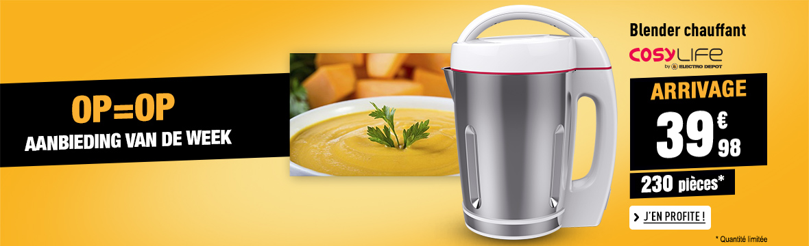 Blender/Soepmaker COSYLIFE CL-SM01X