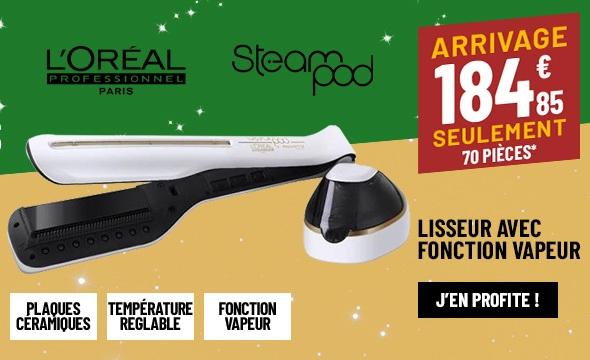 LISSEUR VAPEUR L'OREAL STEAMPOD 2.0