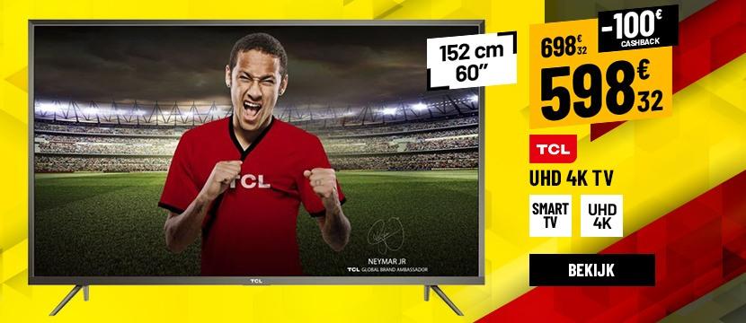 TV UHD 4K TCL U60V6026 UHD CONNECTED HDR