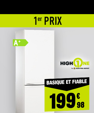 Réfrigérateur HIGH ONE CB 183 A+ WMEC