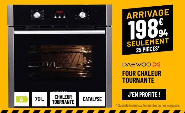 FOUR CHALEUR TOURNANTE DAEWOO KBE-6R2SMMF