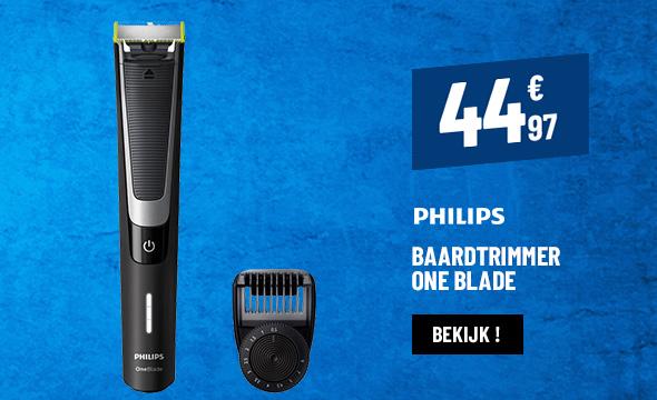 BAARDTRIMMER PHILIPS QP6510/20 ONE BLADE PRO