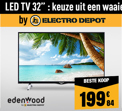 LED TV EDENWOOD ED3204HD CONNECTED