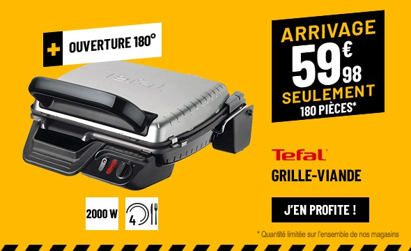 GRILL TEFAL ULTRA COMPACT GC305012