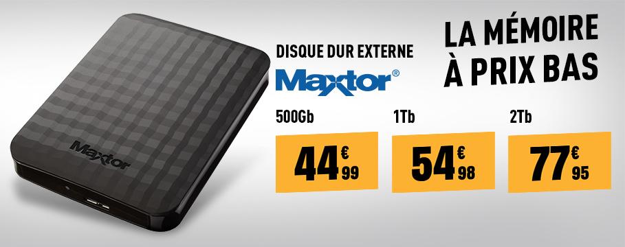 Disque dur externe 2.5 MAXTOR