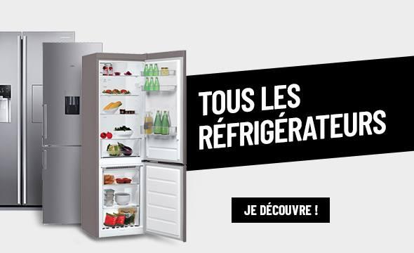 TOUS LES RÉFRIGÉRATEURS