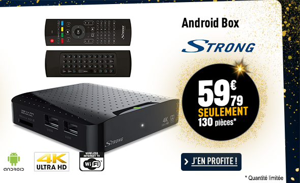 IPTV ANDROID BOX STRONG SRT2022 7.1