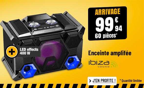 ENCEINTE AMPLIFIÉE IBIZA SPLBOX400