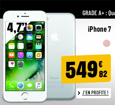 APPLE IPHONE 7 RECONDITIONNÉ GRADE A+ 32 GO