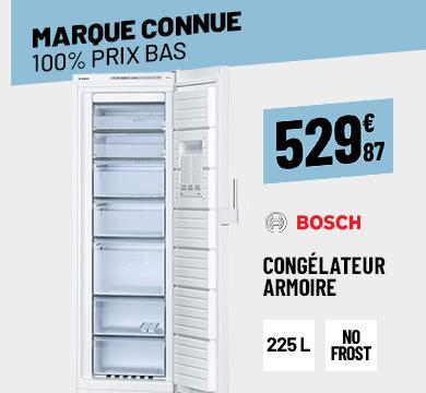 CONGÉLATEUR ARMOIRE BOSCH 225L