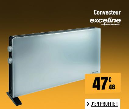 CONVECTEUR EXCELINE EX-C24