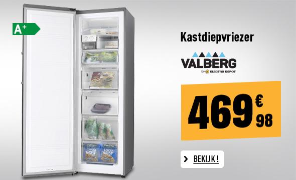 Kastdiepvriezer VALBERG VAL ARV 260 A+ SHC