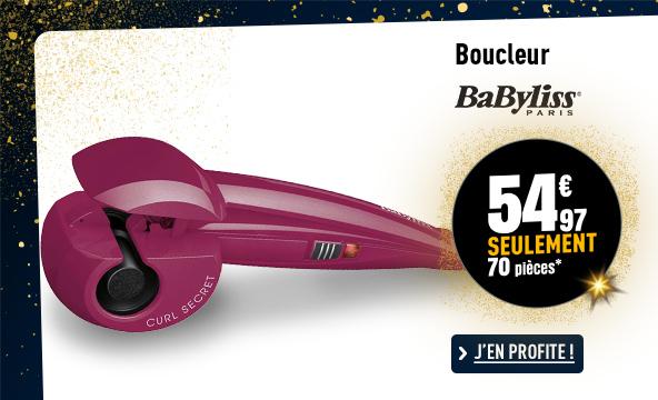 Boucleur BABYLISS C903PE CURL SECRET ROSE